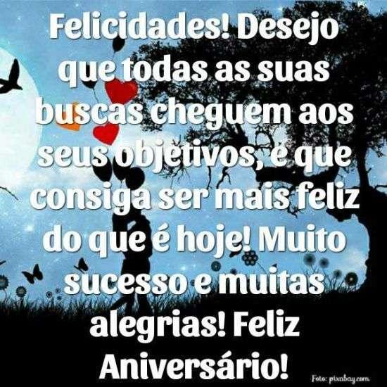 Felicidades e Feliz aniversário