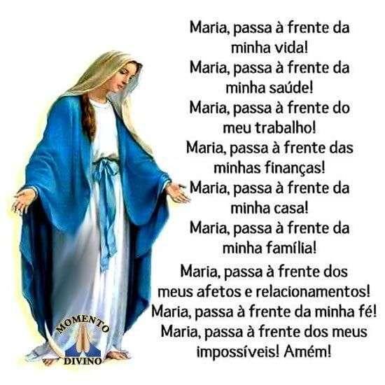 Maria passa à frente