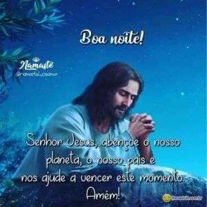 Boa Noite Senhor Jesus