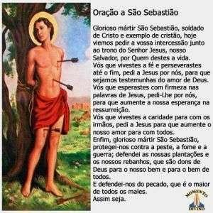 Oração a São Sebastião